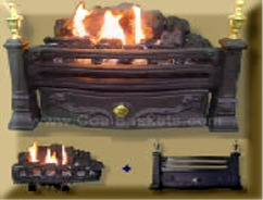 Most realistic Coal burner for reduced clearance fireplaces
